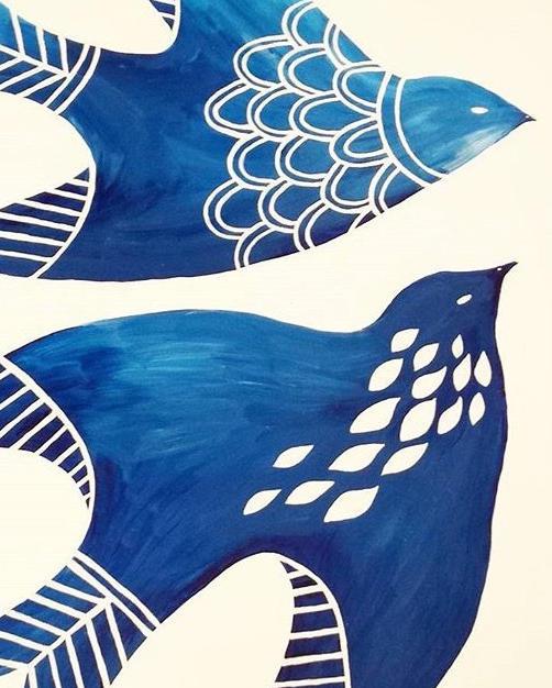 Blue birds no.20