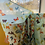 Thumbnail: Silk Scarf with colorful butterflies