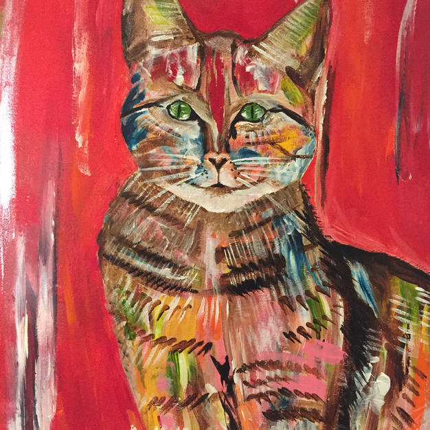 Colorful Cat no.6