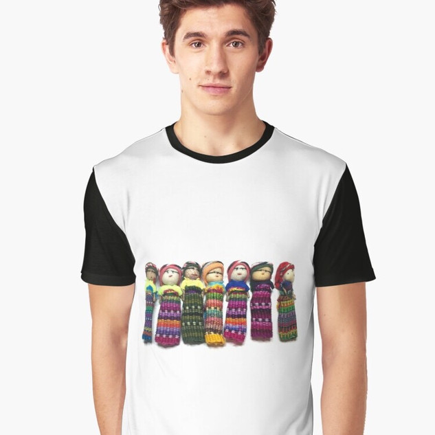 Art Wear Worry Doll T-shirt Men
