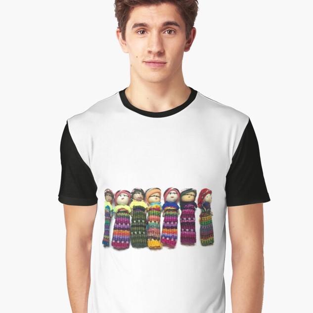 Art Wear Worry Doll T-shirt Hommes