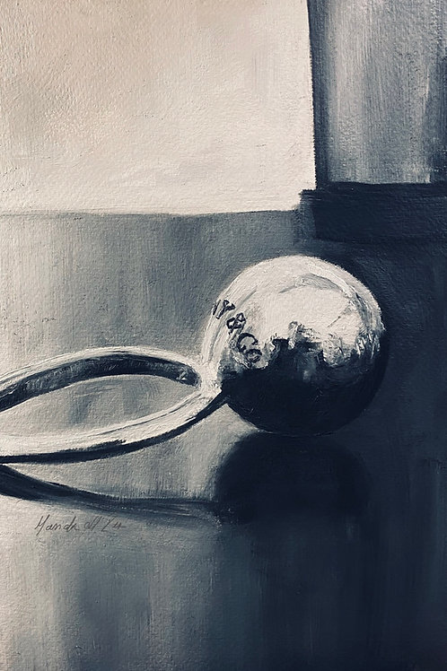 Silver Ring Original Art