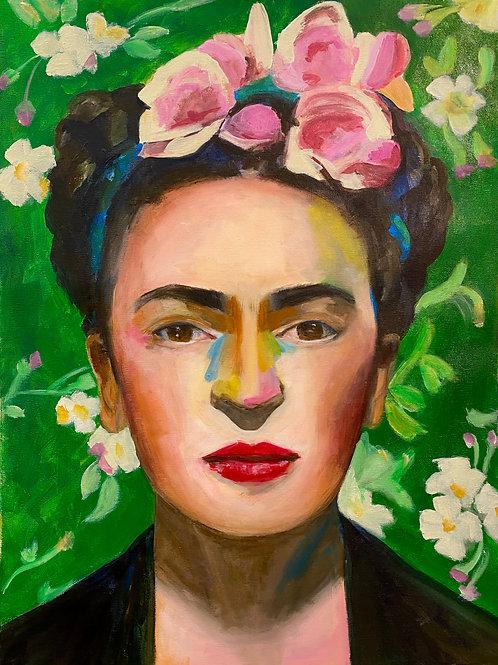 Frida Kahlo   Green