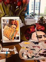 Frida Kahlo Online Workshop