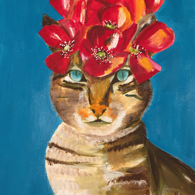 Cat Kahlo no.15
