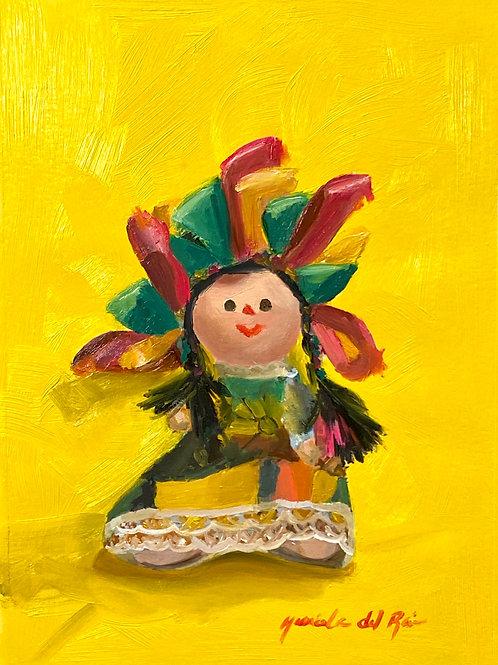 Mexican Doll Fine Art Print