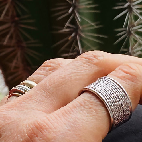 Silver Ring  Band