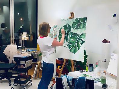 Aleksandra Painting and Wine Brussels