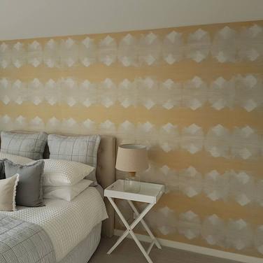 Bedroom Wallpapering by Andrew Gill.jpg