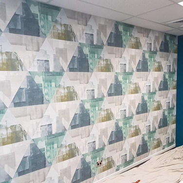 Geometric Wallpapering by Andrew Gill.jp