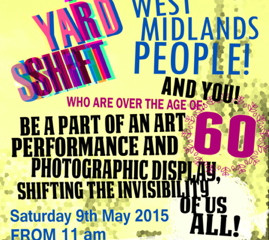 AGE YARD SHIFT EVENT 9TH MAY 2015