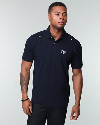 Two Button Pique Signature Polo