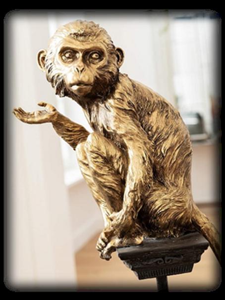 Deko Figur Circus Monkey