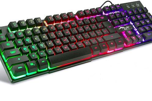 Gaming Tastatur Schwarz