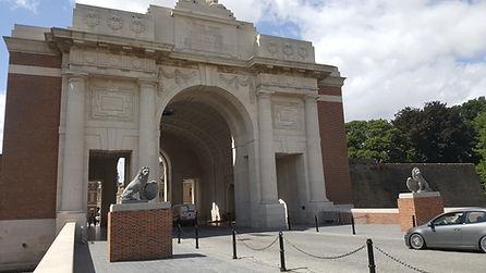 Visite des champs de bataille à Ypres et Passendale en Flandre