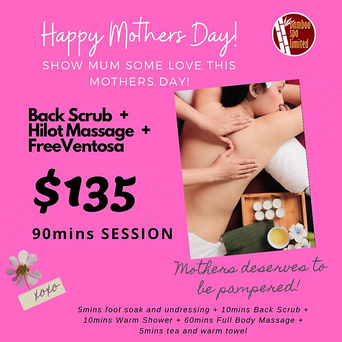 Mothers Day Special! 90mins Pamper Session