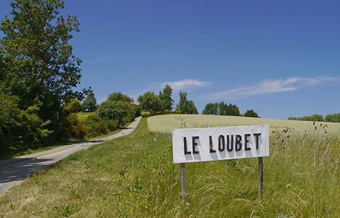 Pathway up to Le Loubet