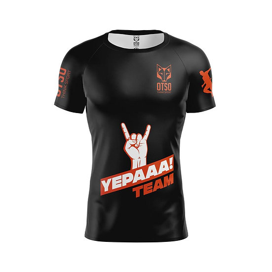 Men's Short Sleeve Shirt Yepaaa Black
