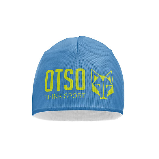 Hat Light Blue / Fluo Yellow