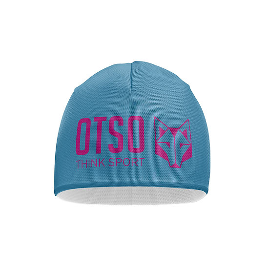 Hat Light Blue / Fluo Pink