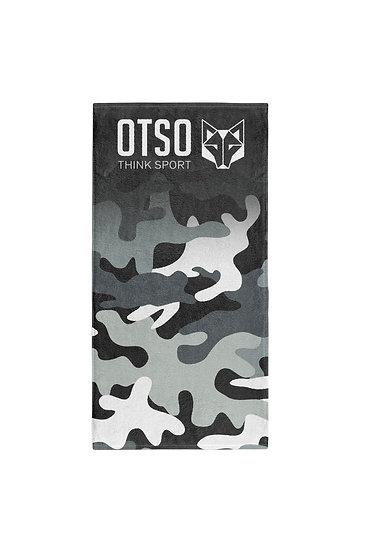 Microfiber Towel Camo Grey