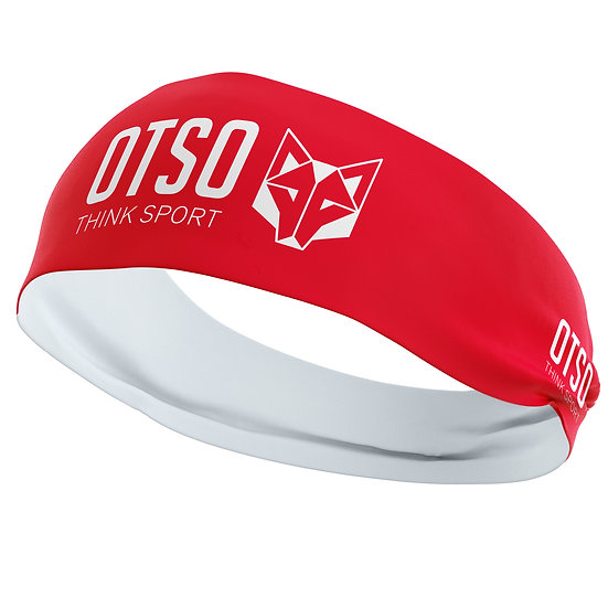 Headband Otso Sport Red / White