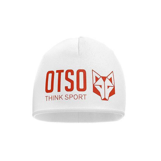 Hat White / Fluo Orange