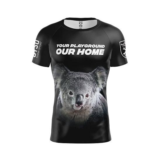 Men's Short Sleeve Shirt Koala