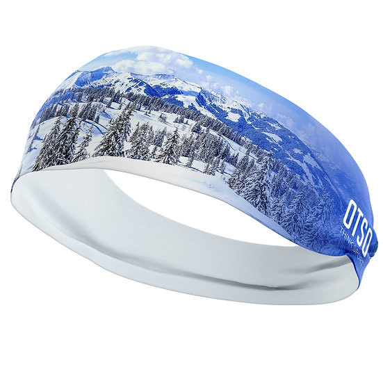 Headband Snow Forest