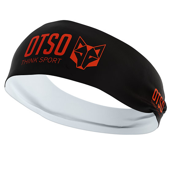 Headband Otso Sport Black / Fluo Orange