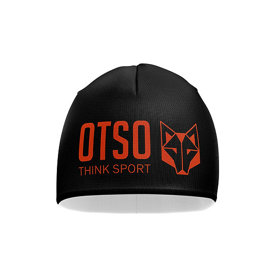 Hat Black / Fluo Orange