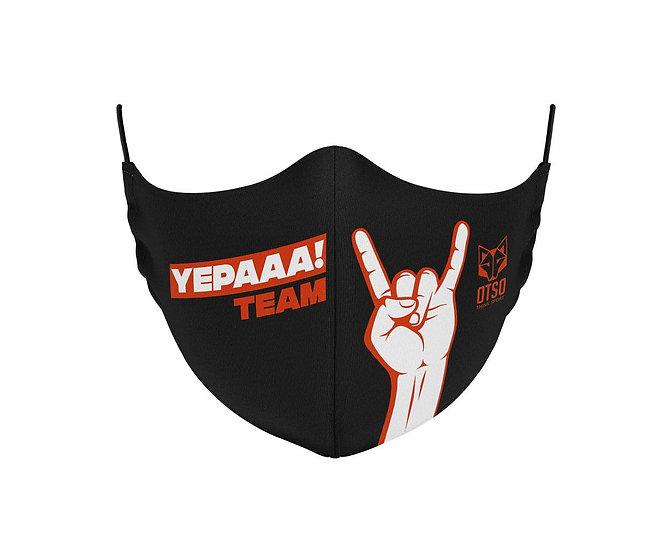 Face Mask Yepaaa Black