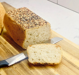 My Mother's Best, No-knead Peasant Bread prepared by Justine