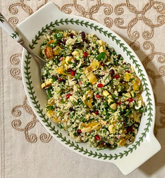 Winter Tabbouleh with Roasted Squash prepared by Jackie