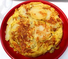 Tortilla Española prepared by Linda
