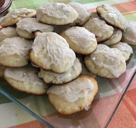 Lemon Ricotta Cookies with Lemon Glaze prepared by Susie