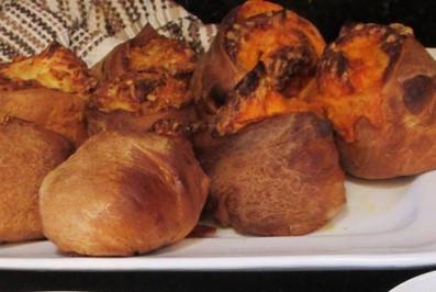 Gruyere Stuffed Crusty Loaves prepared by Meredyth
