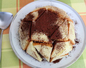 Zuccotto prepared by Becky