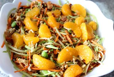 Healthy Asian Ramen Salad prepared by Susie