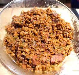 Jennie's Chicken Pelau prepared by Shelley
