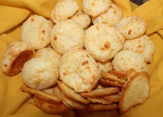 Brazilian Cheese Bread from Simply Nigella prepared by Jan