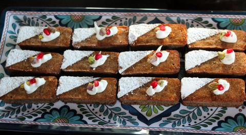 Persian Love Cakes prepared by Jackie