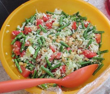 Green Papaya Salad prepared by Sue