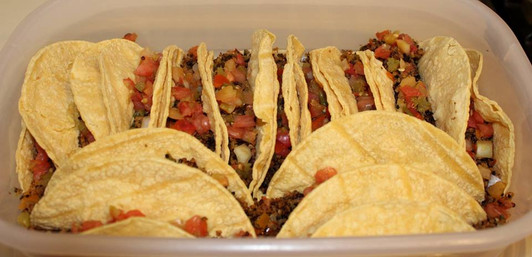 Quinoa Taco Meat prepared by Wendy