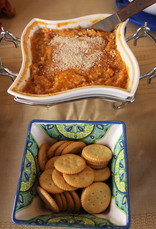 Baked Pimento Cheese & Sausage prepared by Shelley