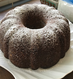 Cardamom Coffee Cake from The Moosewood Cookbook prepared by Shelley