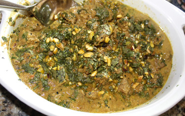 Lamb Maharaja from Feast: Food to Celebrate Life prepared by MaryLou