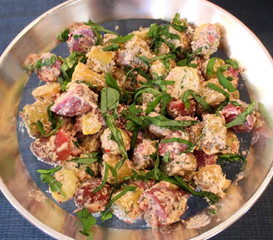 The Best Herby Potato Salad prepared by Susie