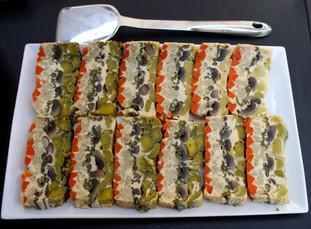 Vegetable Paté prepared by Shelley