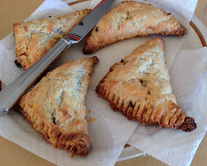 Rustic Stuffed Turnovers prepared by Becky